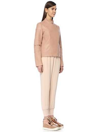 Stella McCartney Ceket Pudra